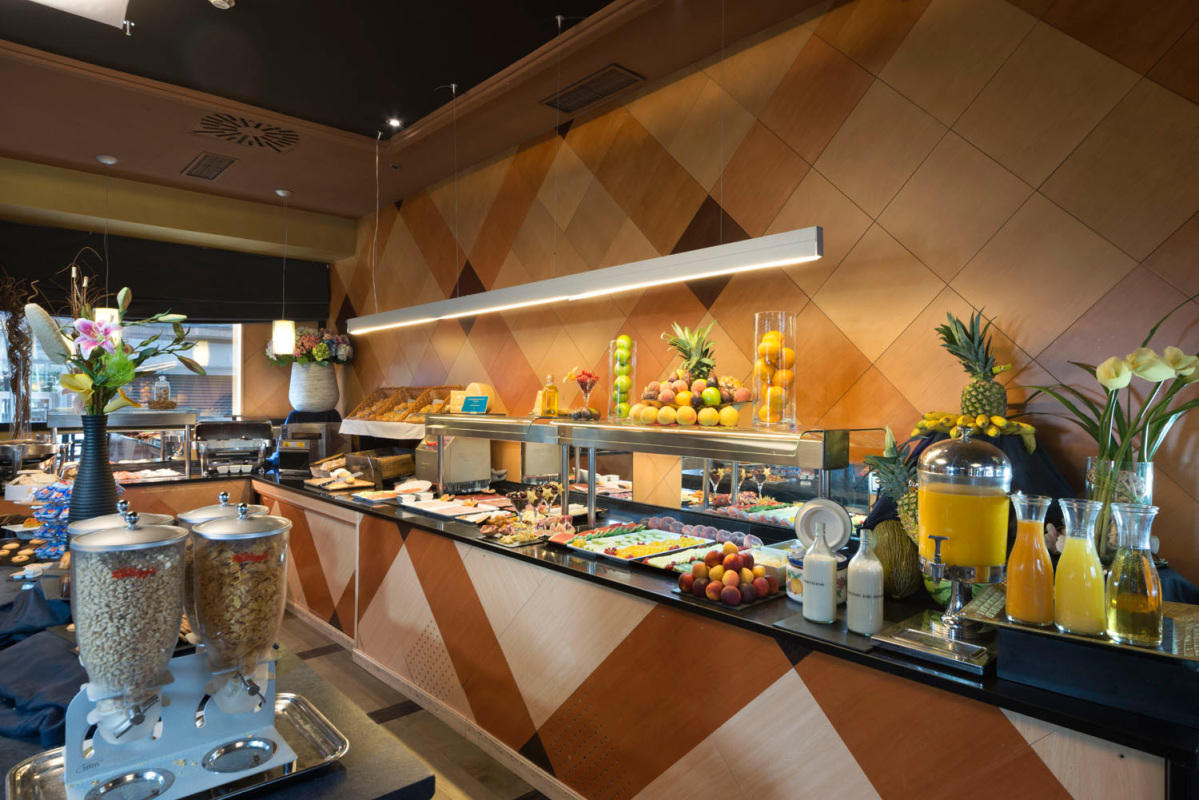 abba Madrid hotel - Buffet