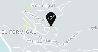 abba Formigal hotel - Map